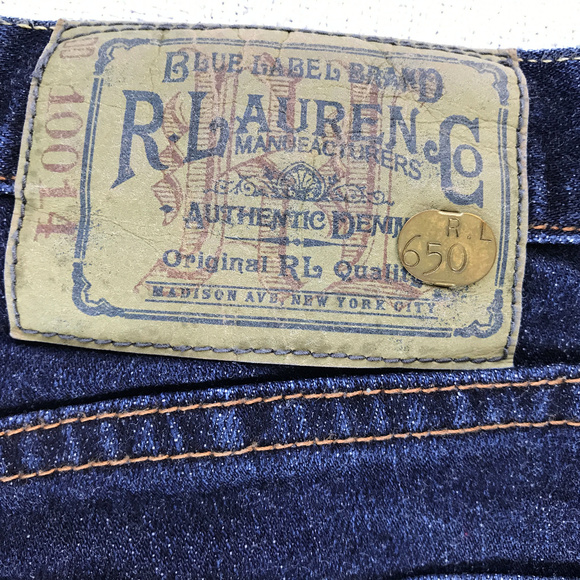 Ralph Lauren Blue Label Denim - RALPH LAUREN Women's Thompson 650 Jeans